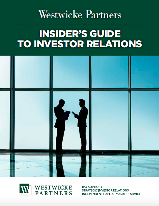 Westwicke Insider's Guide to Investor Relations