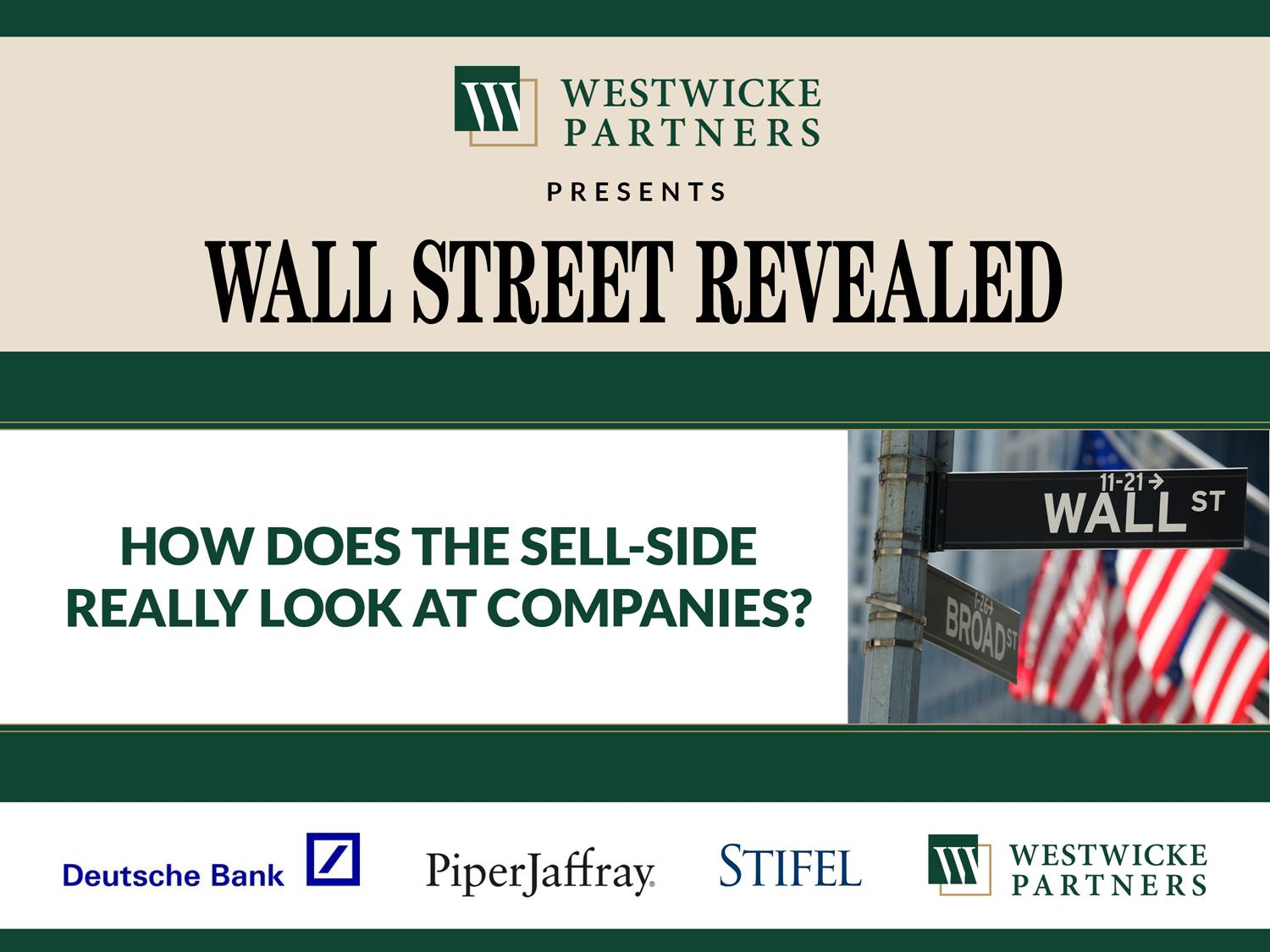 How Does the Sell-Side Really Look at Companies?