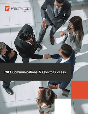 Westwicke M&A Communications eBook