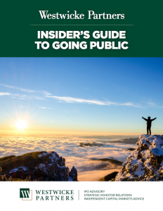Westwicke Insider's Guide to Going Public